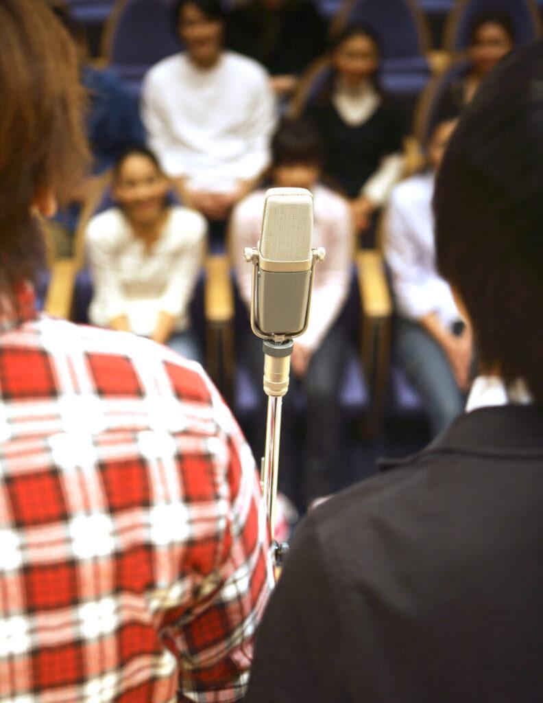 Ungdomar på workshop
